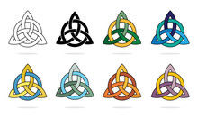 Three Pointed Triquetra Or Tri...