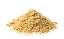 Pile Of Dry Mustard Powder