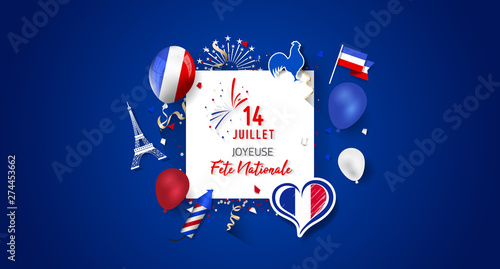 Happy Bastille Day (Fête Nationale).