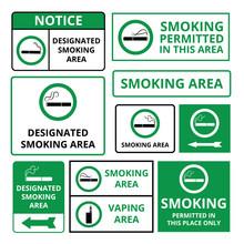 Designated Smoking Area - Gree...