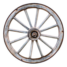 Isolated Wagon Wheel