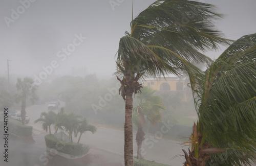 Photo Hurricane warning