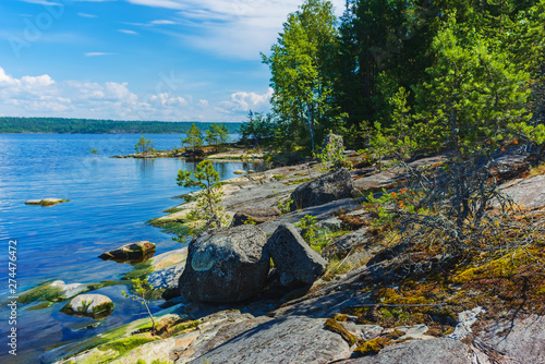 Valokuva  Ladoga lake- visit the national Park
