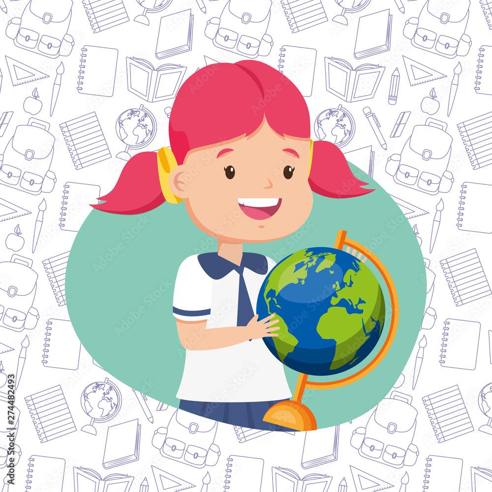 Fototapety, obrazy: kids back to school
