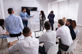 Business People Working On New Project In The Meeting - 274489054