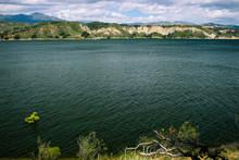 Landscape Of Cachuma Lake In C...
