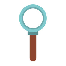 Magnifying Glass Search Symbol Isolated