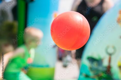 Fototapeta Czerwona piłka obraz