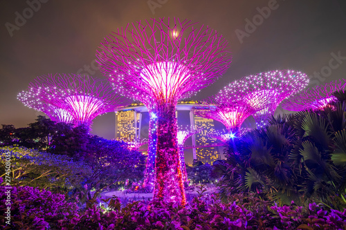 Valokuva  Singapore travel concept, landmark and popular for tourist attractions