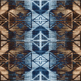 Geometry modern repeat pattern with textures - 274514611