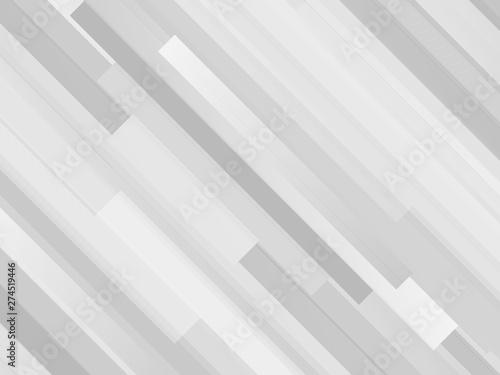 ストライプ背景 モノクロ Canvas Print