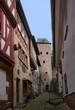 In der Altstadt von Miltenberg in Unterfranken, Bayern, Deutschland