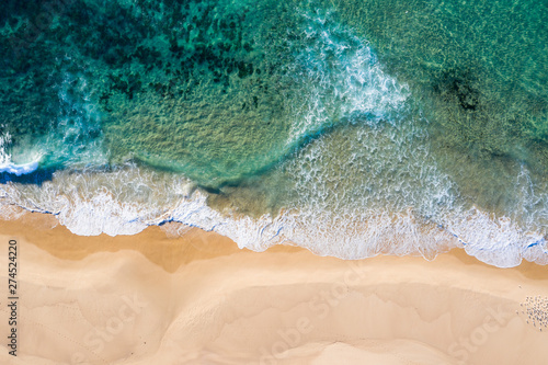 Nobbys Beach - Newcastle NSW Australia - Aerial View