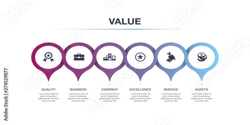 VALUE INFOGRAPHIC DESIGN