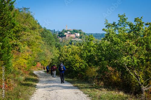 Photo Camminando lungo la ciclovia Parenzana