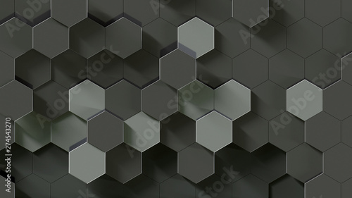 Honeycomb Titanium Abstract Background 4k Resolution