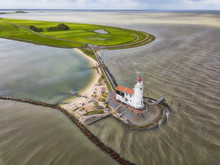 Aerial View Of The Lighthouse ...