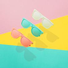 Three Painted Sunglasses Fly ...