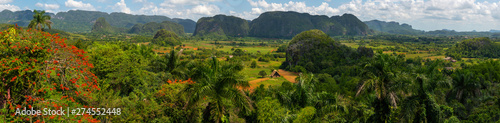 Photo  Vinales Valley site in  Pinar del Río of Cuba