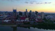 Nashville Tennessee USA Drone Aerial Skyline