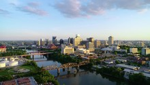 Nashville Tennessee USA Aerial Skyline