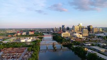 Nashville Tennessee TN Drone Aerial Skyline