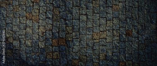 Obraz Setts texture ( also called cobblestone texture ) - fototapety do salonu