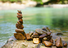 Sort Or Stack Pebble Stone Tow...