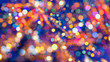 canvas print picture - Abstract background bokeh used as a general design surface.