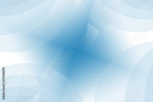 Abstract Blue Wave Design Illustration Wallpaper Light