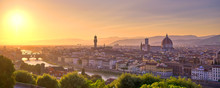 The Sunset Over Florence, Capi...