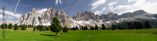 Landscape with mountains Wallpaper Mural
