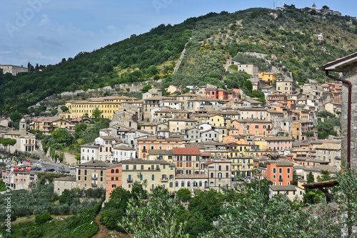 Photo The town of Arpino in central Italy