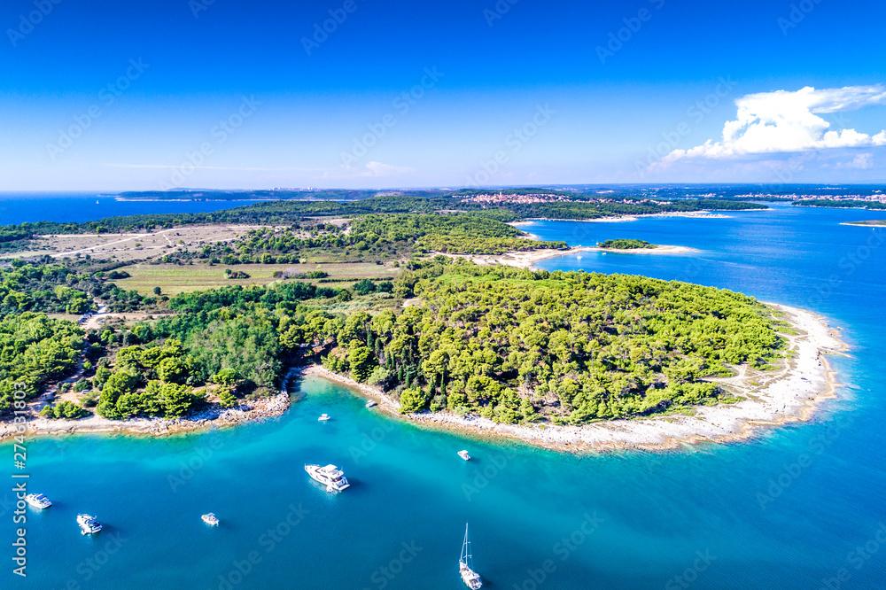 Fototapety, obrazy: Croatia, Istria, aerial view of Cape Kamenjak