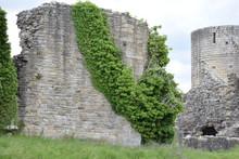 Old Wall Of Barnard Castle