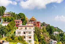Thrangu Tashi Yangtse Monastery Complex Called Namo Buddha Monastery In Nepal