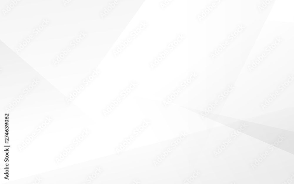 Fototapeta Abstract white and gray modern background. Vector Illustration