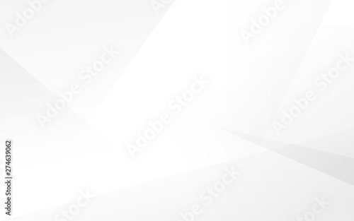 Abstract white and gray modern background. Vector Illustration