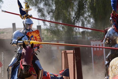 Renaissance joust