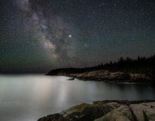 Milky Way In Acadia National Park Maine