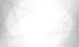 design white light & grey geometric background halftone style. vector EPS10