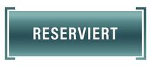 Reserviert Web Sticker Button