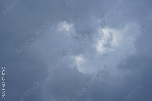 Montage in der Fensternische Darknightsky Best clouds ever seen thunder storm