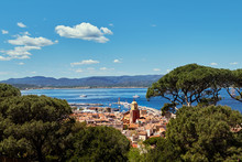 France, View Of St Tropez