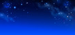 canvas print picture - background of the night sky with stars