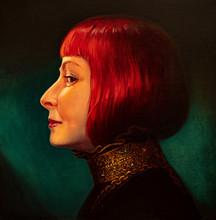 Oil Painting, Portrait, Handma...