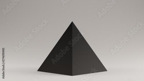 Fotografia Black Pyramid 3d illustration 3d render