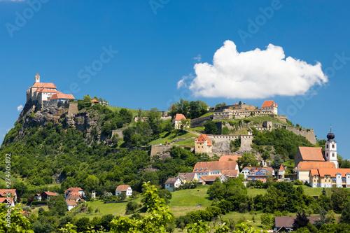 Town Riegersburk in Styria,...