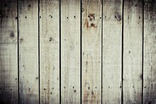 Vintage Background With Wooden...