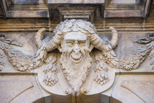 Detail Of Palace In Dresden - ...